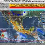 Se esperan fuertes lluvias para la península de Yucatán