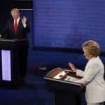 ¿Quién gano el debate entre Clinton y Trump?