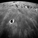 Descubren nuevos cráteres en la luna