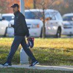 Barack Obama muy relajado el día de las elecciones