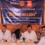 "Club Rotario Cancún Internacional trabaja una ""Doble Acción"""