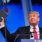 Trump agradece a cristianos evangélicos el apoyo durante su campaña