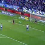 La increíble doble salvada del Barca en los minutos finales