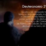 Sabías qué… |39- Deuteronomio 29:23