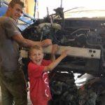 Niño asegura haber sido ayudado por ángeles al salvar a su padre