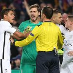 UEFA no suspenderá al árbitro del Barcelona