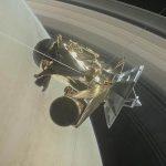 Sonda Cassini supera recorrido entre Saturno y sus anillos