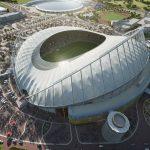 Qatar termina el primer estadio para el Mundial de 2022