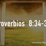 Palabras de sabiduría 68| Proverbios 8:34-36