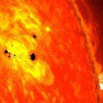 Desaparecen las manchas del sol de su superficie