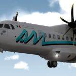 Aeromar, inauguró su nueva ruta Mérida-Cancún