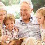 Celebrando a los más maravillosos. los abuelos