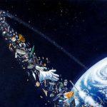 El planeta que acumula basura hasta en el espacio