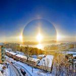 NASA explica la extraña aparición de un fenómeno metereológico en el cielo de Suecia