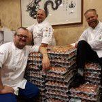 El equipo de noruega recibe 15 mil huevos por error