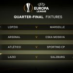 Sortean los cuartos de final de la Europa League