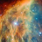"""Telescopio espacial Hubble revela imagen de galaxia """"cabello de medusa"""""""