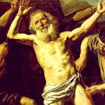El martirio de Policarpo.