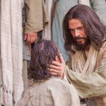 Jesús cura a un muchacho endemoniado